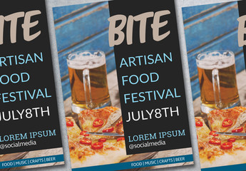 Food Event Poster Layout 2