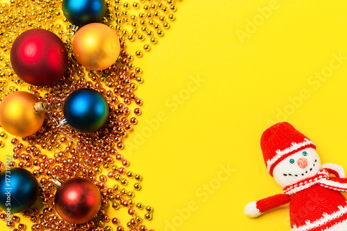 A collection of Christmas decorations for a template template. View ...
