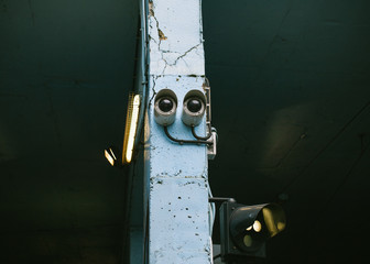 Surveillance Camera Shaped as a Smiley Face