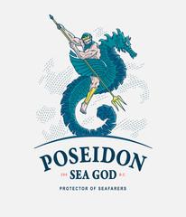 Poseidon godof sea