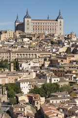 Toledo, Castilla - La Mancha / Spain. October 19, 2017. The city has many places of interest and is a World Heritage Site since 1986.