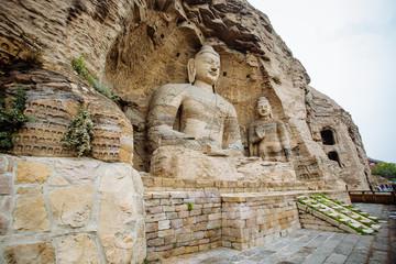 The Yungang Grottoes, Shanxi,China