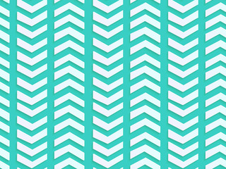 Blue chevron pattern, 3D arrow background