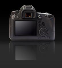 Digital camera rear view