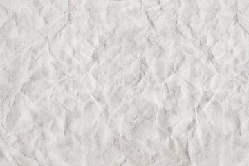 texture of a crumpled sheet of paper