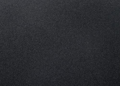 Dark black metal door texture in the apartment