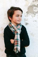 Portrait of a Cute Kid