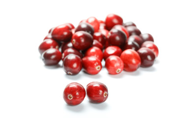red cranberry fruit
