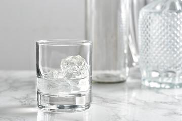Vodka on the rocks