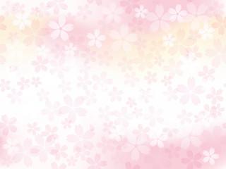 シームレスな桜の背景