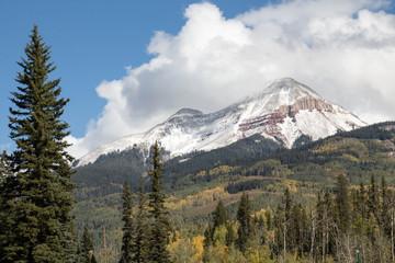 Engineer peak near Durango, Colorado in the San Juan mountains