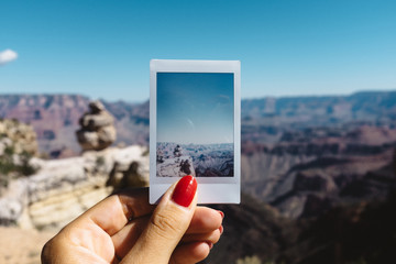 Picture of a the Grand Canyon National Park