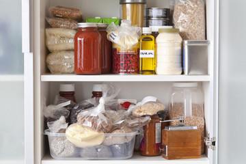 Stocked Kitchen Pantry