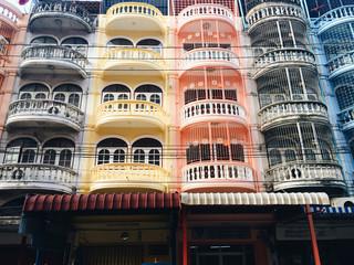 Buildings in bangkok thailand