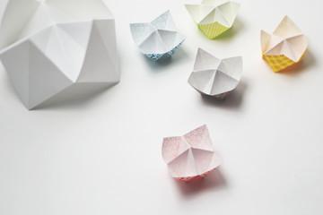 Pretty paper fortune tellers
