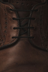 Fine Leather Shoes Texture