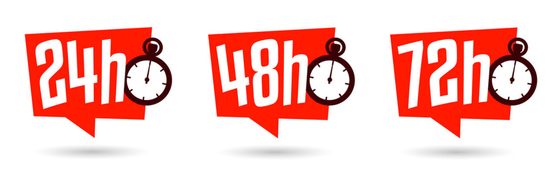Livraison en 24h, 48h et 72 h