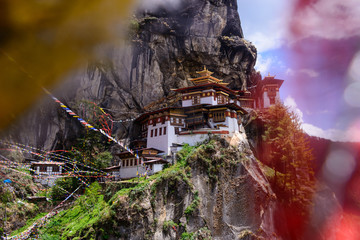 Taktshang Tigers Nest Monastery , Bhutan.
