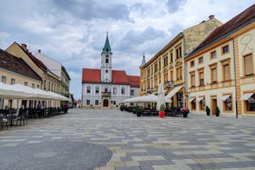 City Square of Varazdin, Croatia