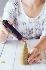 Gluing the top of the tree