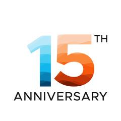 15th anniversary unique number