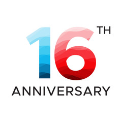 16th anniversary unique number