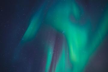 overhead Northern Lights in Alaska