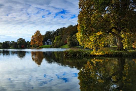 Autumn, Stourhead, England