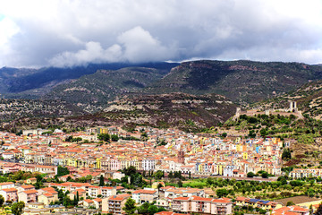 Comune di Bosa Sardinien Stadt Castello Malaspina