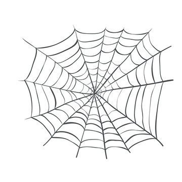 spiderweb, Web Spider Vector Illustration. Webbing weaving
