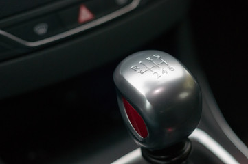 Gear shift knob.