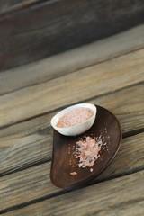 Himalayan salt and black in bowl