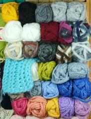 Yarns for knitting