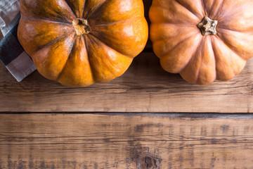 pumpkins on the table, halloween