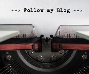 blogging im internet - folge meinem blog