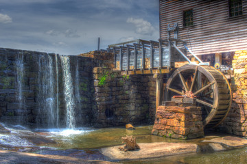 Waterfall and Mill