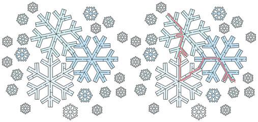 Easy snowflake maze