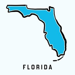 Florida map outline