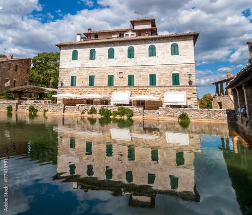 Terme di Bagno Vignoni, Toscana\