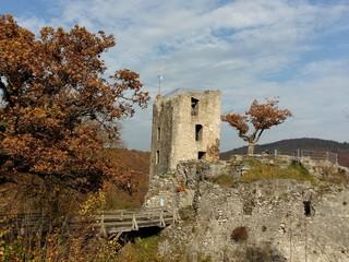 Burgruine Neideck - Herbst in der Fränkischen Schweiz
