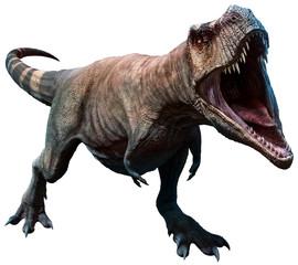 Tyrannosaurus about to bite