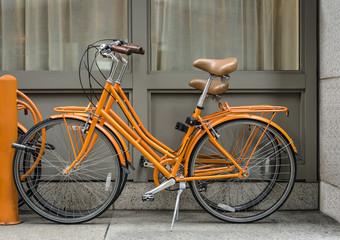 Bicis naranja / Orange Bicycle