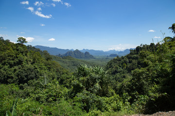 Panorama Khao Sok Nationalpark