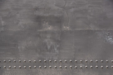 Gray painted metal door background