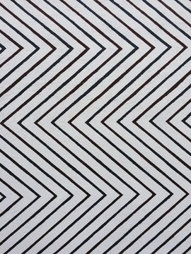 Abstract illusional pattern of blue and red diagonal lines