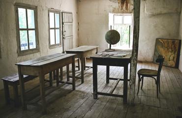 Abandoned old school