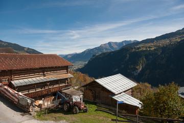 Landschaft bei Waltensburg, Graubünden