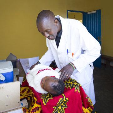 Medical Clinic. Kenya, Africa.