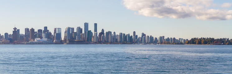 Wall Mural - Vancouver and Pacific Ocean Panorama