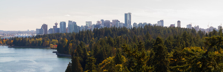 Wall Mural - Panorama of Stanley Park, Vancouver
